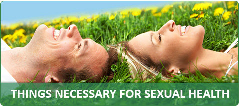 Things necessary for Sexual health